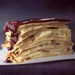 Dessert Crave – Chocolate Éclair Crêpe Cake