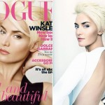 Kate Winslet New Platinum Pixie Haircut
