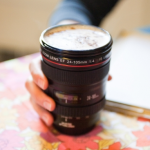 Travel Mug Must Have: Camera Lens Mug