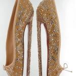 Newest Christian Louboutin 8-Inch Ballet Heels