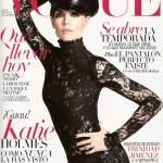 Katie Holmes' Dark Side in August Vogue Spain
