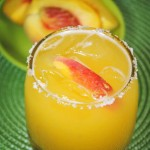 Cool Off This Heat Wave With A Peach Margarita