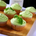 Mojito Cupcakes with Lime Rum Cream Cheese Frosting