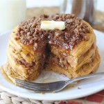 Sunday Brunch: Pumpkin Cinnamon Streusel Pancakes