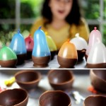 Chocolate Ice Cream Party Bowls