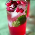 Christmas Cranberry Spritzer