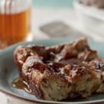 Christmas Cinnamon Apple Raisin French Toast Casserole