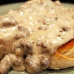 Homemade Sausage Gravy and Biscuits: Sunday Brunch