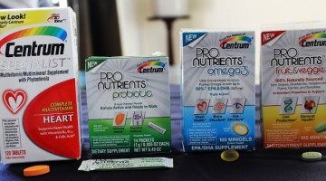 Centrum ProNutrients Review & Giveaway #NutritionPossible