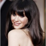 Zooey Deschanel Golden Globes 2012 Makeup