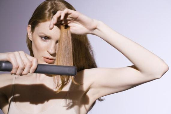 how to fix burnt hair from curling iron