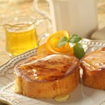 Sunday Brunch: Orange Cinnamon French Toast with Orange Rum Syrup