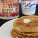 Sunday Brunch: Sour-Cream Pancakes with Maple Sour-Cream Syrup