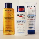 Eucerin Calming Cream, Itch Relief and Body Oil Review