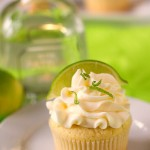 Margarita Lime Cupcakes with Tequila Buttercream