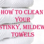 Easily De-Funk Your Bath Towels