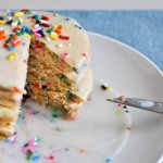 Sunday Brunch: Cake Batter Pancakes with Sprinkles