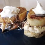 Sunday Brunch: Dark Chocolate and Banana Cream Cheese Stuffed French Toast