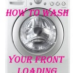How To Clean Your Front Loading Washer and Get Rid of That Smell!