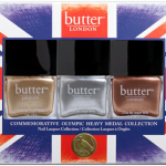 butter London Olympic Heavy Medal Trio Lacquers