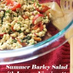 Summer Barley Salad with Lemon Vinaigrette