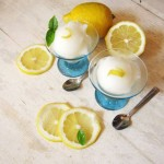 Friday Happy Hour: Sparkling Lemon Sorbet Cocktail