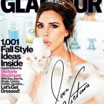 Victoria Beckham Covers Glamour: Why She Never Smiles