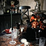 10 Halloween Decorated Table Settings