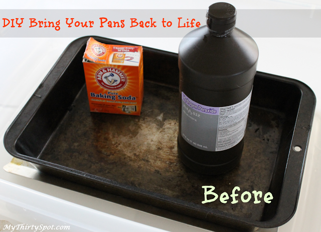 Diy Remove Baked On Gunk From Pots And Pans Mythirtyspot