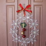 My Snowflake Wreath Crafting Fun – Only Five Dollars & Five Minutes