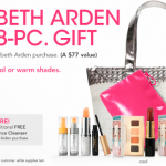 Elizabeth Arden Free Gift Time at Macy's