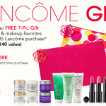 Lancome Free 7-Piece Gift Time