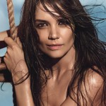 Katie Holmes Covers April Allure Magazine: Talks Beauty and Career