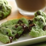 Mint Chocolate Chip Cookies – St Patty's Day Must