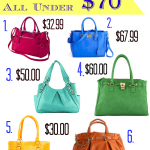 Colors Of Summer Handbags – 6 Choices All Under $70