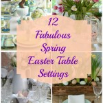 Sunday Brunch: 12 Spring Easter Table Settings