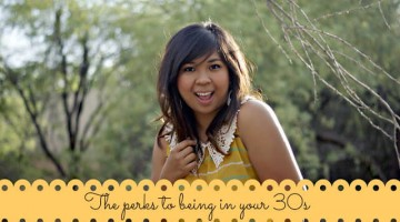 The Perks To Being 30: Love For 30 Project