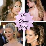 How To Create the Glam Ponytail: Step-By-Step