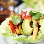 Chicken Fajita Lettuce Bowls #TysonGrilled&Ready