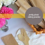 Pretty Picnic Cutlery Pouches – DIY