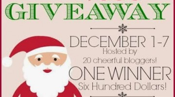 Tis' the Season to Win $600 Giveaway