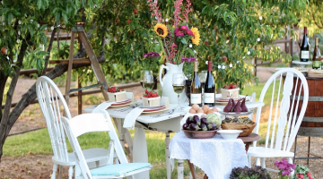 An Intimate Farm-to-Table Spring Potluck
