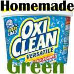 "Homemade ""Green"" Oxi Clean Recipe"