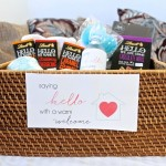 Saying HELLO with a Warm Welcome: How To Put Together a House Guest Basket