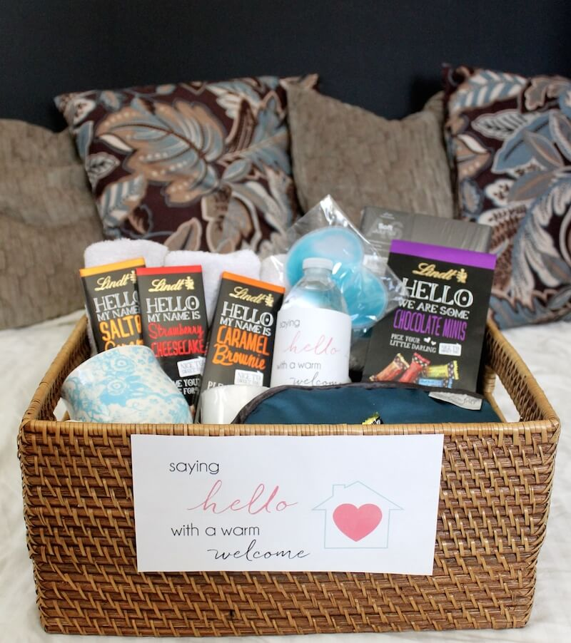 Creating House Gift Baskets