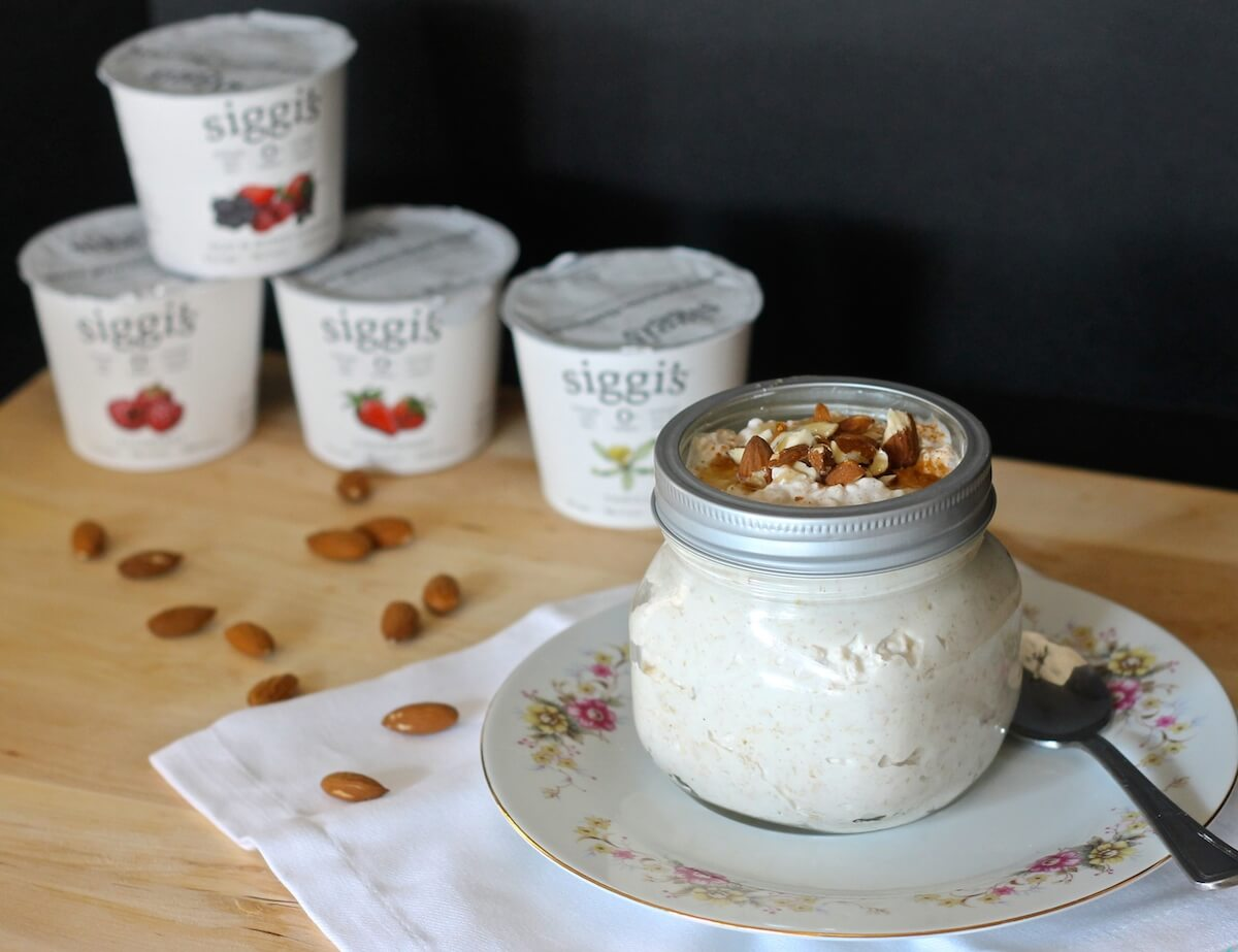 how to make overnight oatmeal with yogurt
