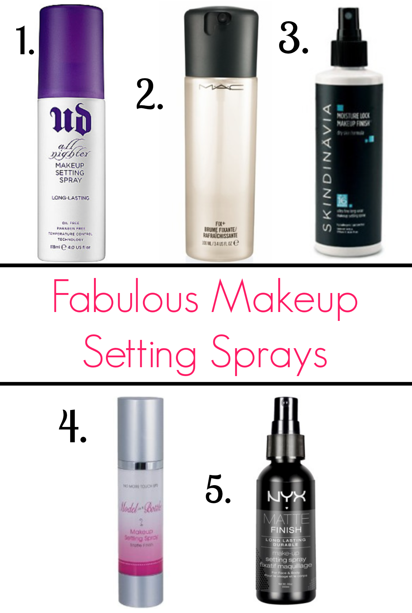 best makeup setting spray avoid makeup meltdown with these makeup setting sprays 31621