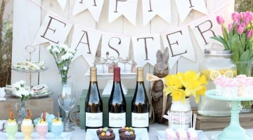 Easter Sunday Brunch Table