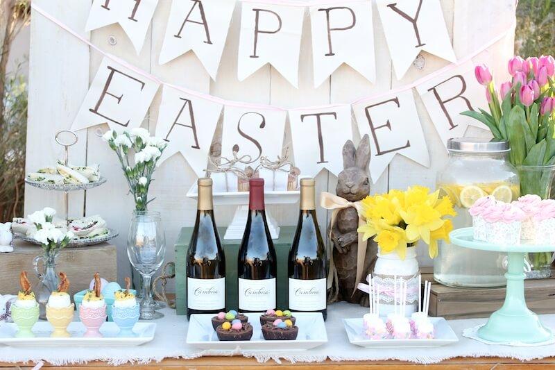 Easter sunday brunch table mythirtyspot for Table 52 sunday brunch