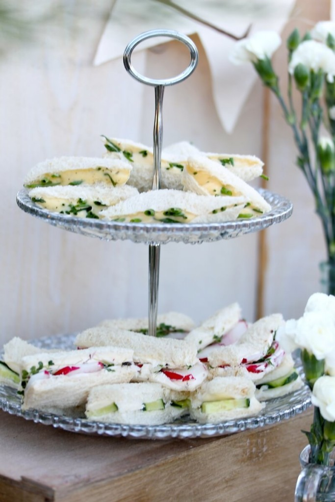 Tea Sandwiches Brunch
